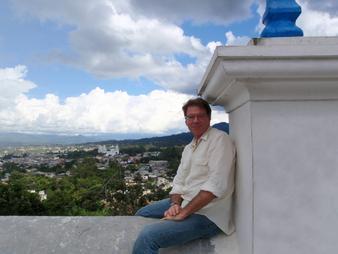 Sr. Pietrobono en Esquipulas, Guatemala