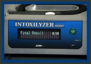 Intoxilyxer DWI breath test
