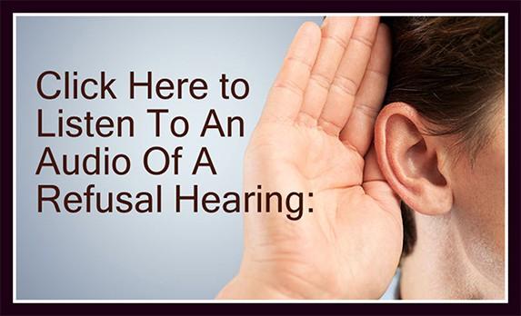 refusal hearing