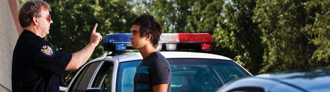 Youthful DWI Arrest