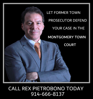 Montgomery Town Court Lawyer, Orange County, NY