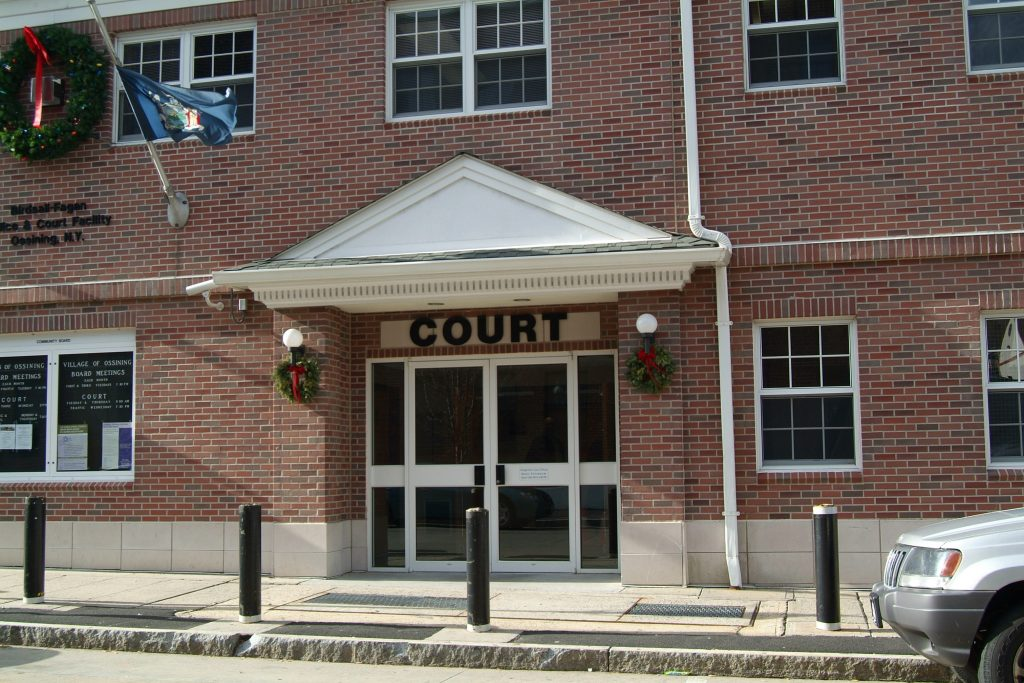 Ossining Town Court, Westchester County, NY